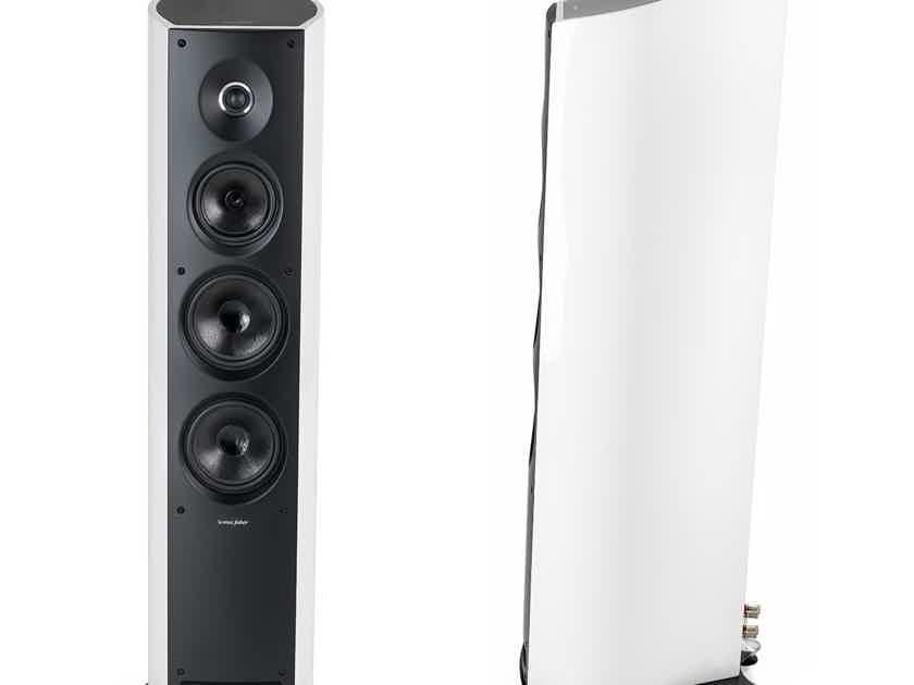 Sonus Faber Venere 3.0 Brand new sealed Pair Gloss white gloss speakers