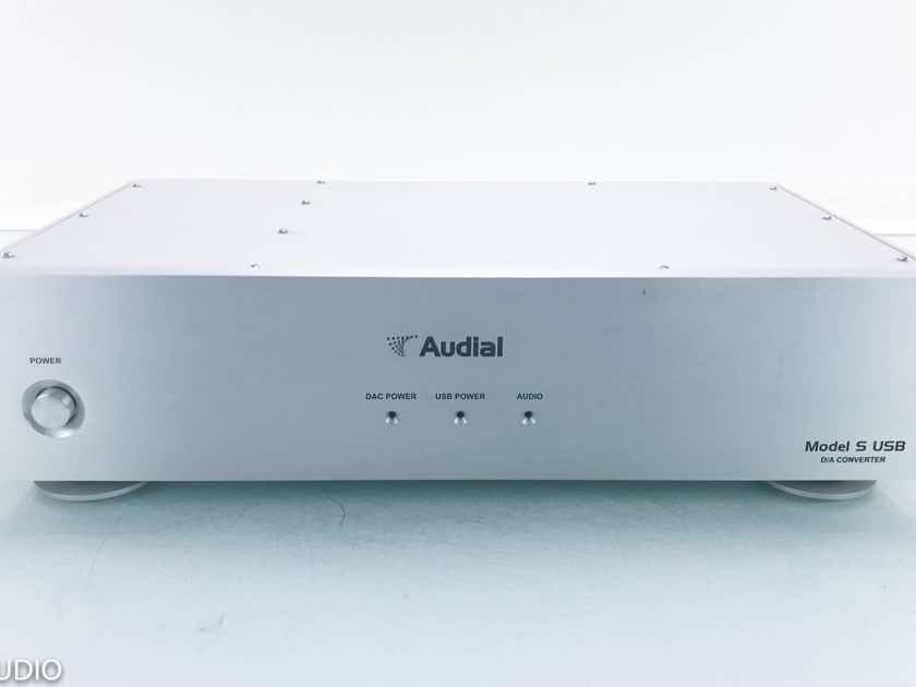 Audial Model S USB DAC D/A Converter; AS-IS (Non-functional USB) (13923)