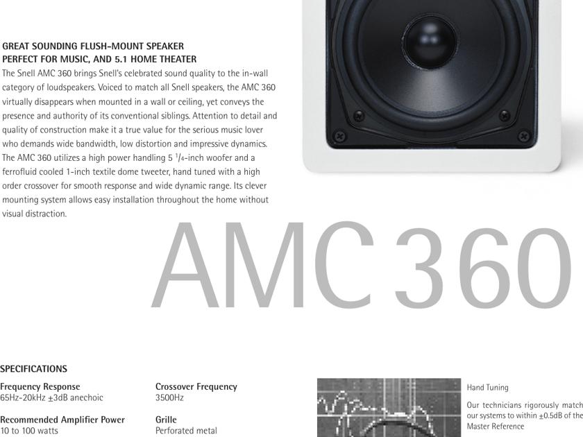 Snell AMC 360