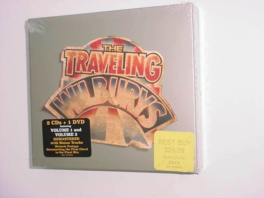 SEALED Double cd dvd set - The Traveling Wilburys collection  volume 1 and volume 3