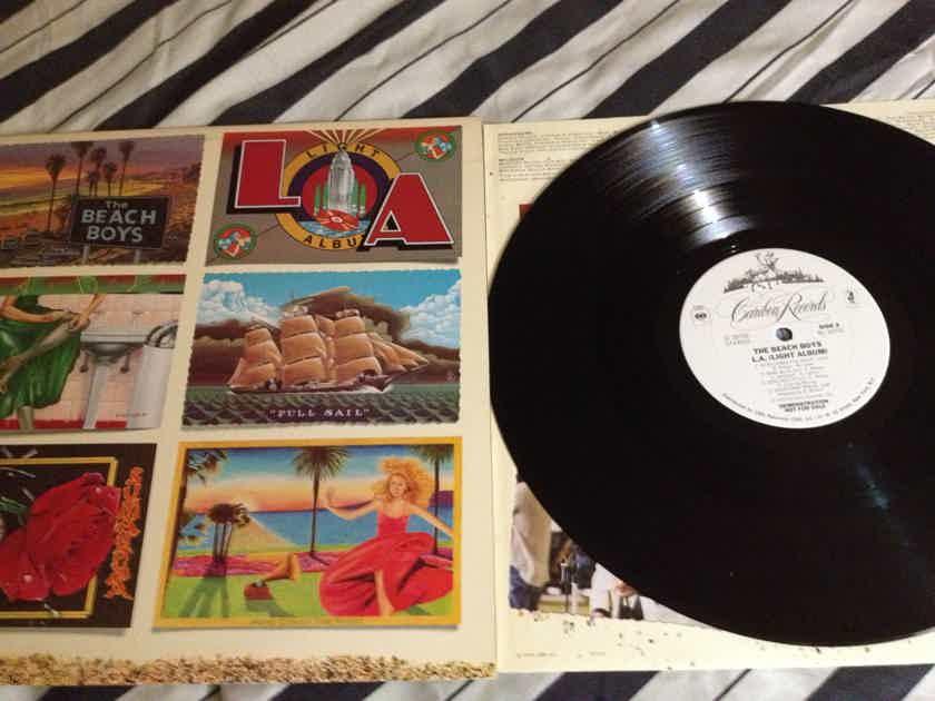 Beach Boys - LA Light Album Caribou Records White Label Promo Vinyl  LP NM