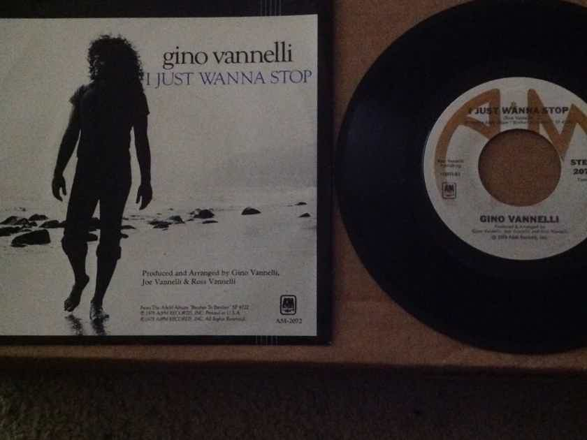 Gino Vannelli - I Just Want To Stop/The Surest Things Can Change A & M Records 45 Single With Picture Sleeve Vinyl NM