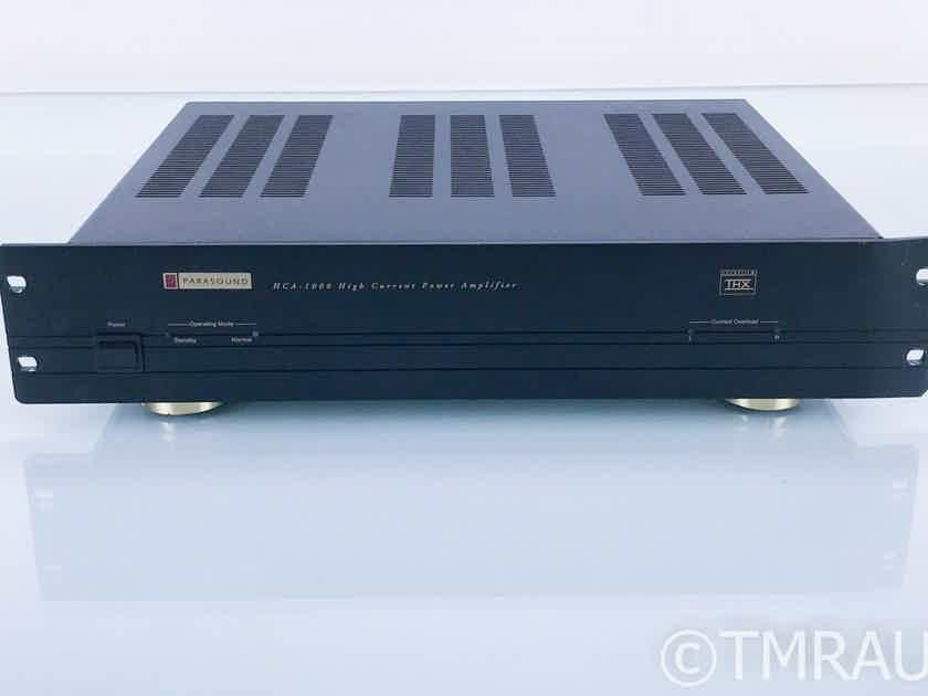 Parasound HCA-1000 Stereo Power Amplifier; HCA1000 (17775)
