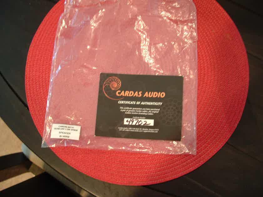 Cardas Quadlink 5c spk 2.5M Bi-wire Pair