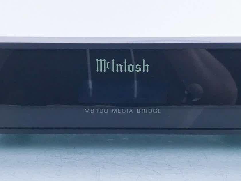 McIntosh MB100 Network Player / Streamer; MB-100 Bridge; 1TB (16042)