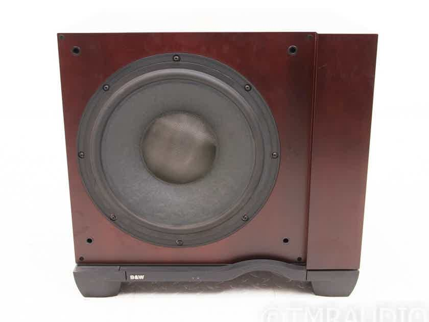 """B&W ASW4000 15"""" Powered Subwoofer; ASW-4000; Rose Cherry; AS-IS (Defective) (18862)"""