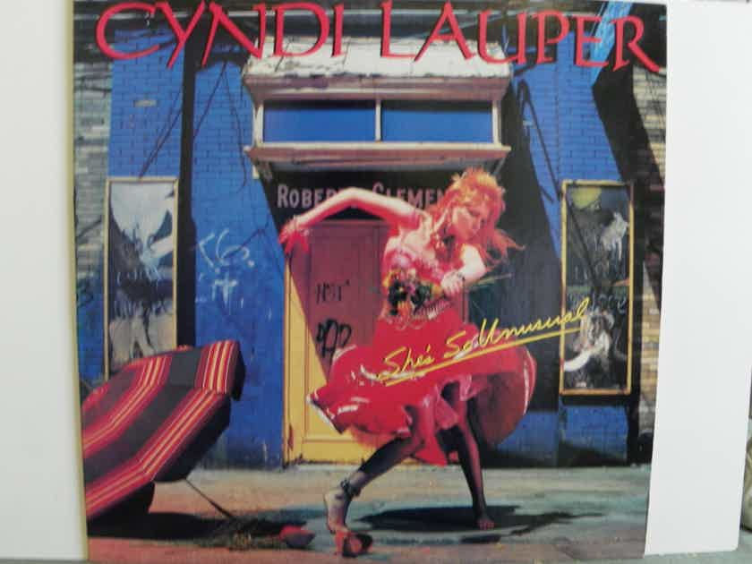 CYNDI LAUPER - SHE'S SO UNUSUAL NM