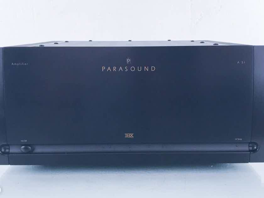 parasound halo a31 3 channel power amplifier a 31 14444 multi channel amps audiogon. Black Bedroom Furniture Sets. Home Design Ideas