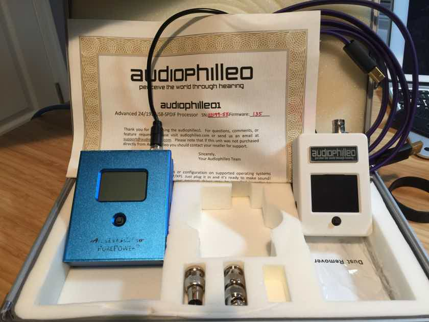Audiophilleo 1 Special Edition + PurePower