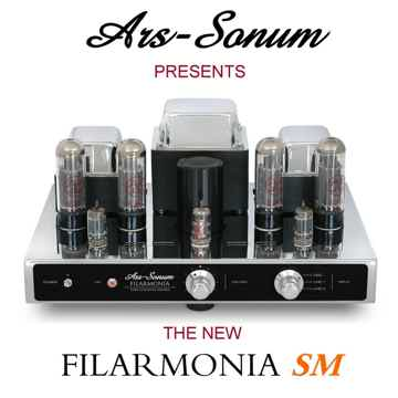 The NEW Ars-Sonum Filarmonia SM Class A EL34 Tube Integ...