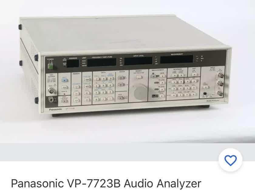 Panasonic VP-7723B audio analyzer, calibrated