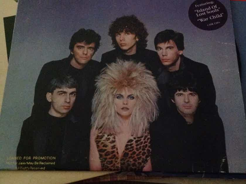 Blondie - The Hunter Chrysalis Records Vinyl LP NM