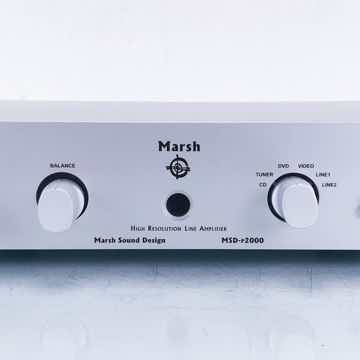 MSD-P2000 Stereo Preamplifier