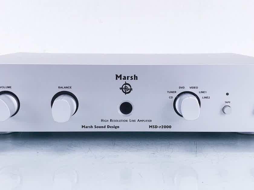 Marsh Sound Design MSD-P2000 Stereo Preamplifier MSD P-2000 (15102)