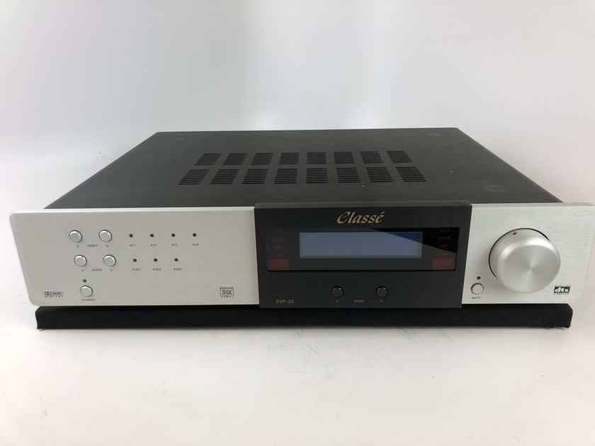 Classe SSP-25 Surround Processor, Audio Preamp, with Remote
