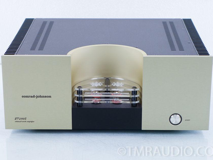 Conrad Johnson ET 250S Hybrid Tube Power Amplifier (9805)