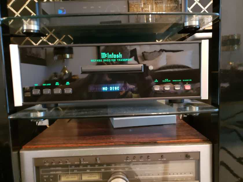 Mcintosh MCT450 CD/SACD transport player