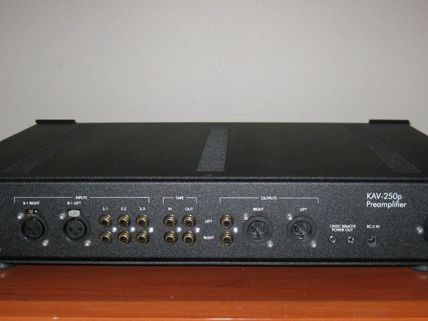 Krell KAV-250p Stereo Preamplifier.