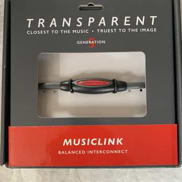 Transparent Audio Balanced MusicLink