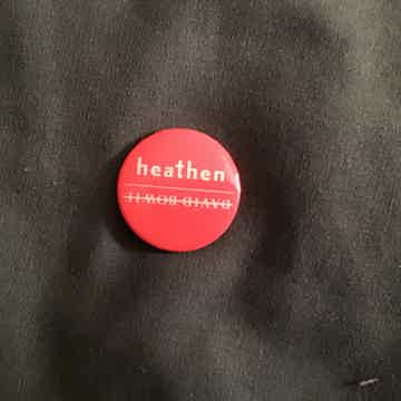 David Bowie  Heathen Small Pin