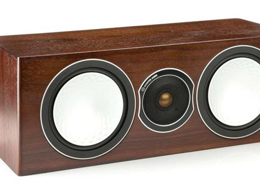 Monitor Audio Silver Center Channel: B-Stock; 5 Yr. Warranty; 50% Off; Free Shipping