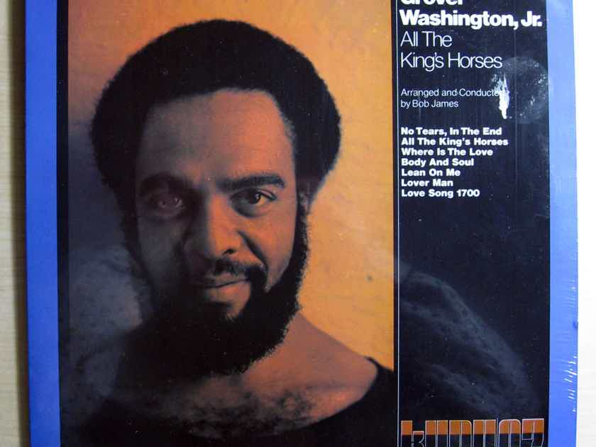 Grover Washington, Jr. - All The King's Horses - SEALED Reissue Kudu KU 07