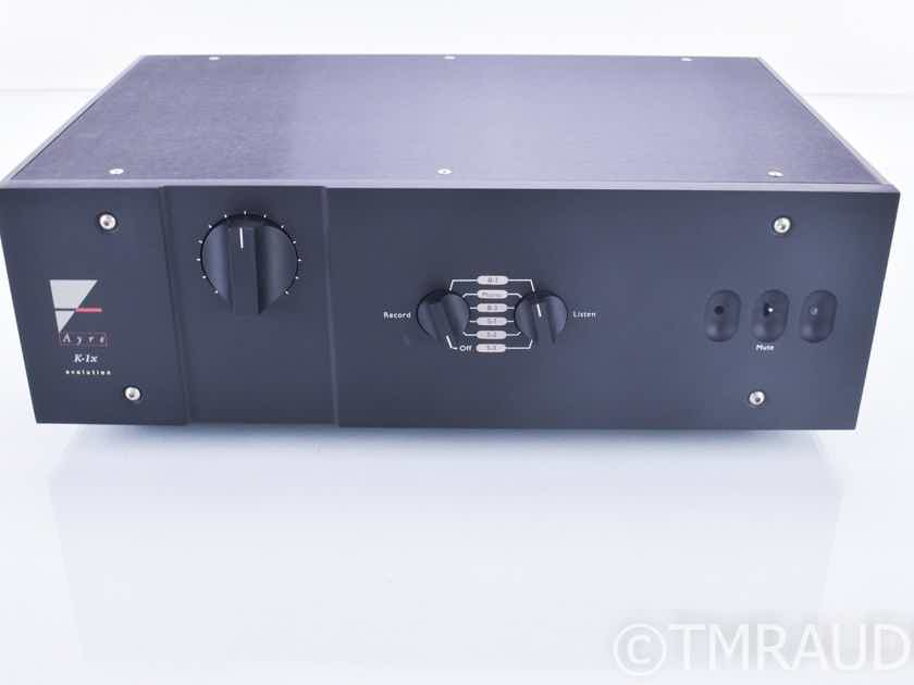 Ayre K-1xe Stereo Preamplifier; PSU; MM / MC; Refurbished; 6 mo. warranty (18558)