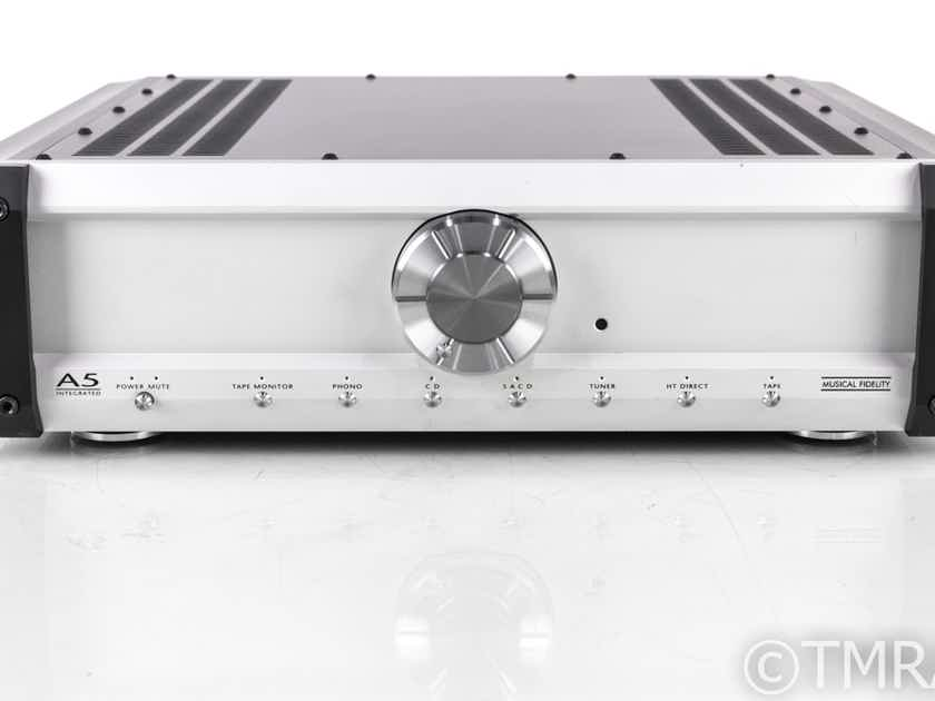Musical Fidelity A5 Stereo Integrated Amplifier; A-5; Remote; MM Phono (21896)