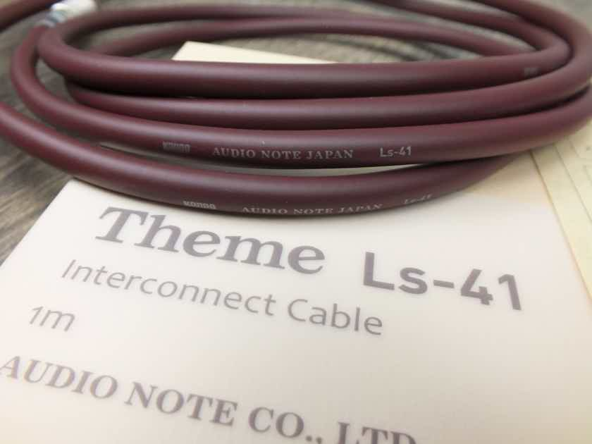 Kondo Theme LS-41 silver interconnects RCA 1,0 metre