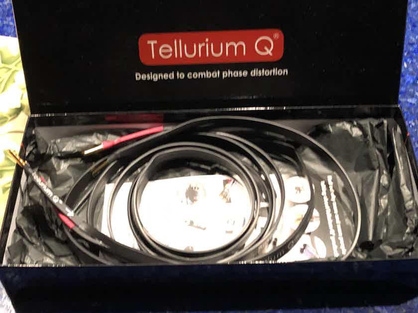 Tellurium Q BLACK 11 Speaker Cables