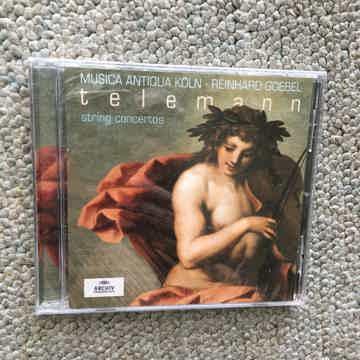 Musics Antiqua Koln Reinhard Goebel Telemann string con...