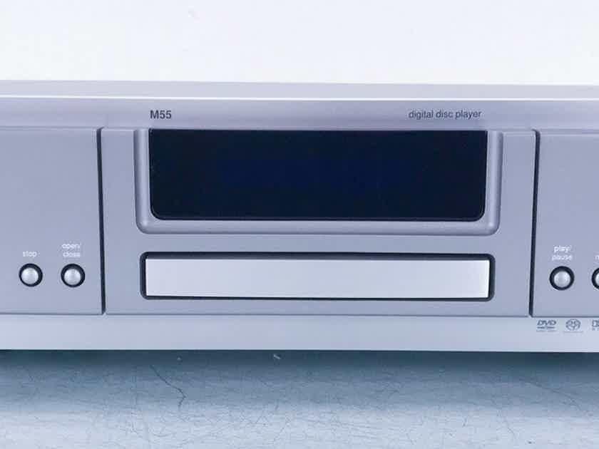 NAD Masters Series M55 DVD / SACD Player; HDCD (No Remote) (20312)