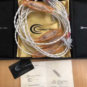 CrystalSpeak DREAMLINE Speakercables 2.5m