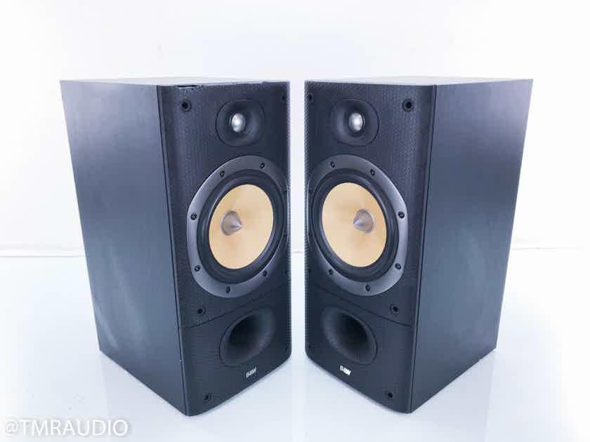 B&W DM602 S3 Bookshelf Speakers Black Ash Pair (13698)