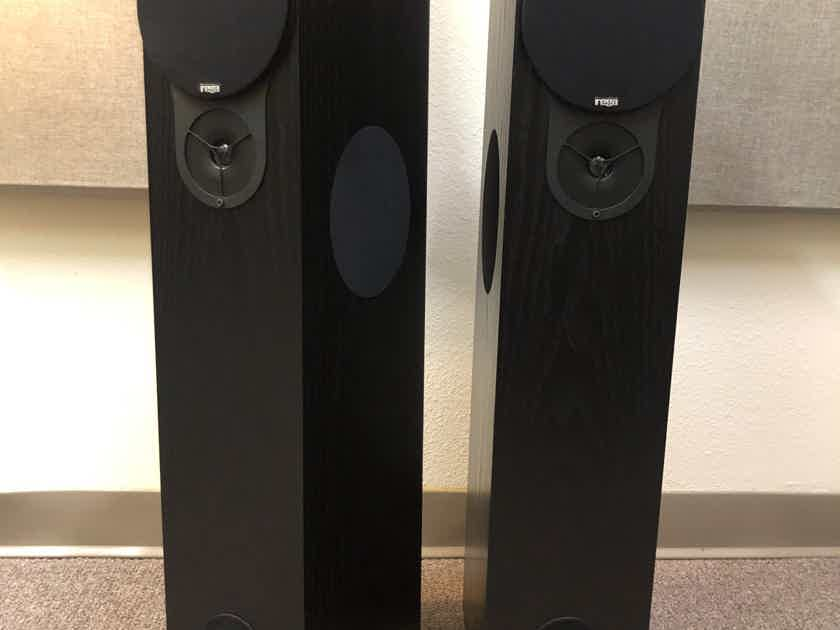 Rega RX3 Floorstanding Speakers - Black - Excellent