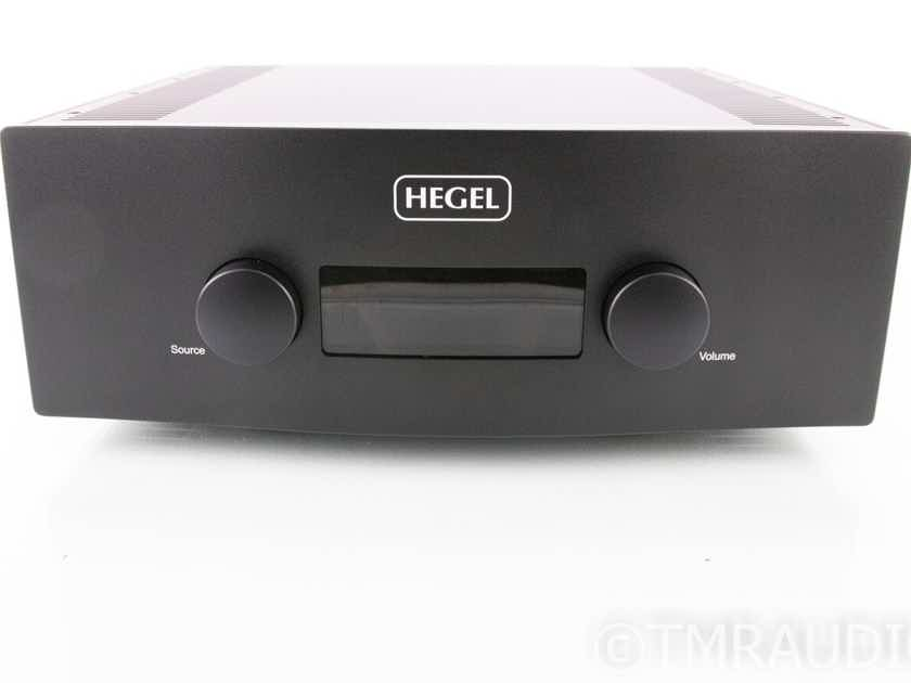 Hegel H590 Stereo Integrated Amplifier; H-590; Remote (18943)