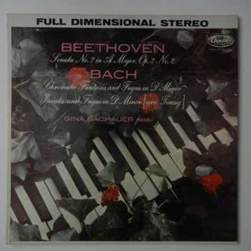 Bachauer plays music of Beethoven & Bach