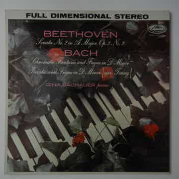 Beethoven/Bach - Bachauer plays music of Beethoven & Ba...