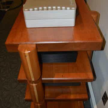 TimberNation Custom 4 Shelf Audio Rack / Stand