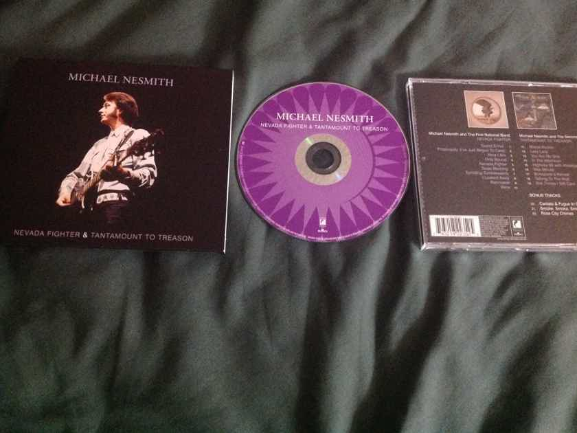 Michael Nesmith - Tantamount To Treason/Nevada Fighter 2 LP On 1 Compact Disc Import With Bonus Tracks