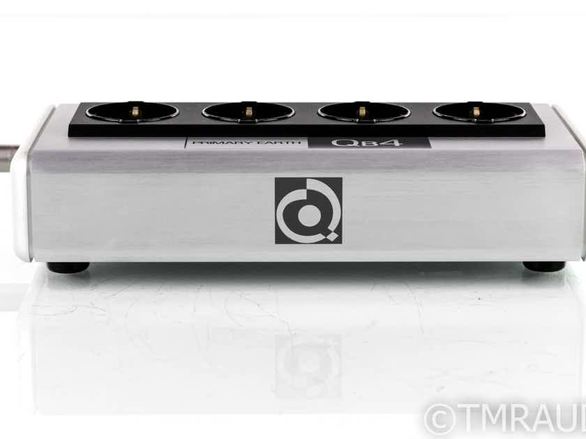 Nordost QRT QB4 4-Outlet Power Conditioner; EU Version (Schuko w/ US Adapters) (20034)