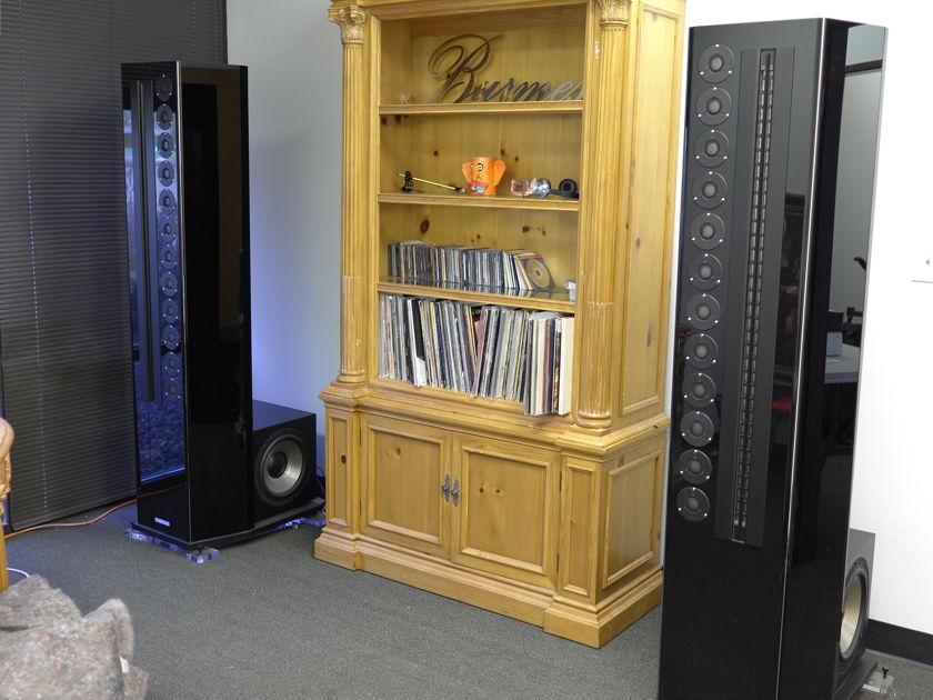 Genesis Technologies G2 JR Full Range Loudspeakers in Black