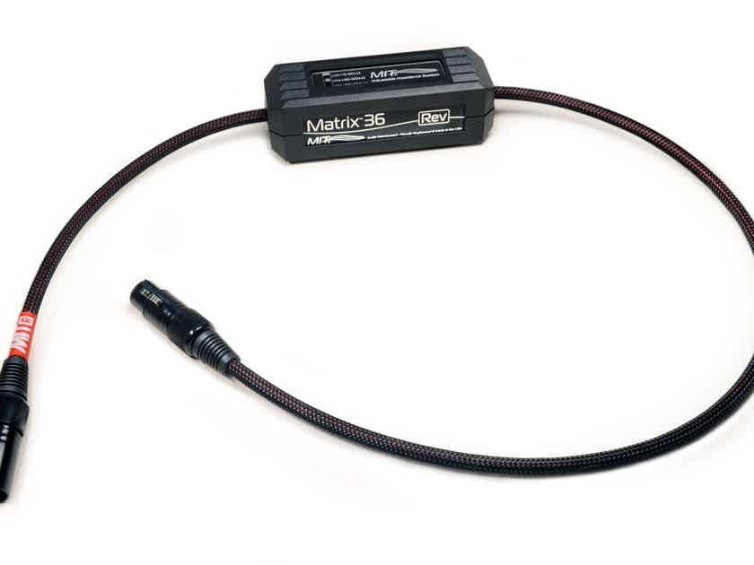 MIT Cables MATRIX 36 REV BALANCED XLR, NEWEST GENERATION