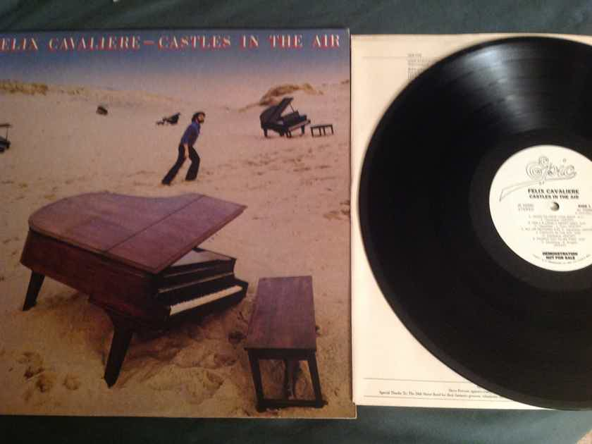 Felix Cavaliere Castles In The Air Epic Records White Label Promo LP