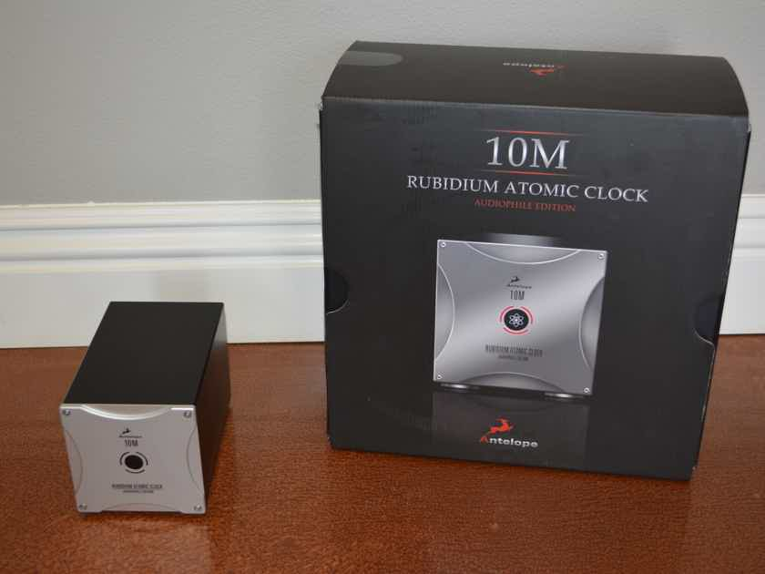 Antelope Audio 10M Rubidium Atomic Clock Audiophile Edition -- Excellent Condition (see pics!)