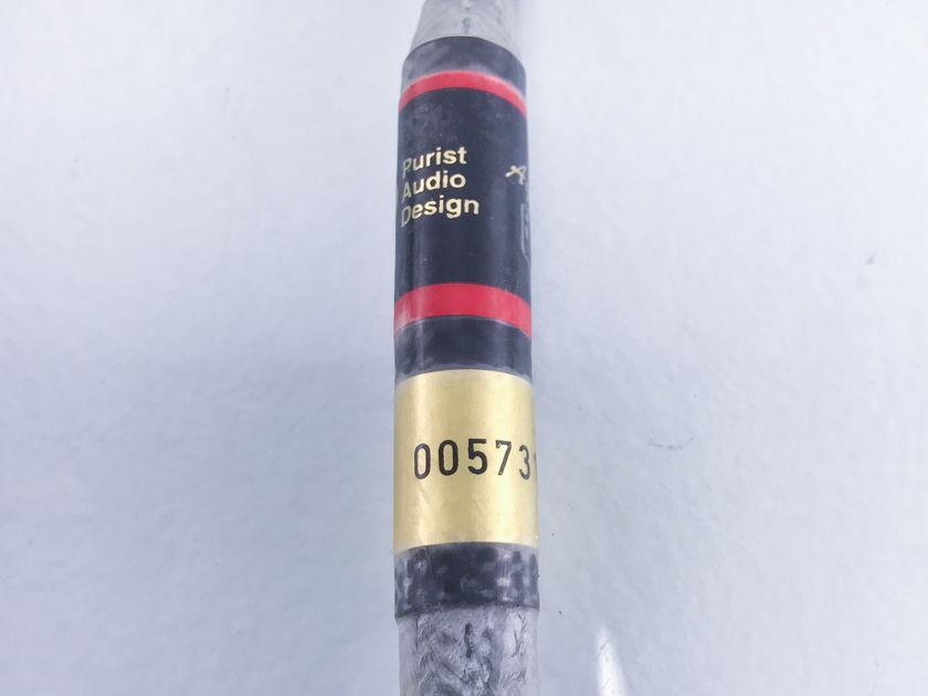Purist Audio Design Aqueous Rev. B  RCA Cables; 1m Pair Interconnects (1538)