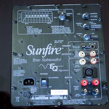 Sunfire True Subwoofer EQ Solitaire 12 - TS-EQS12