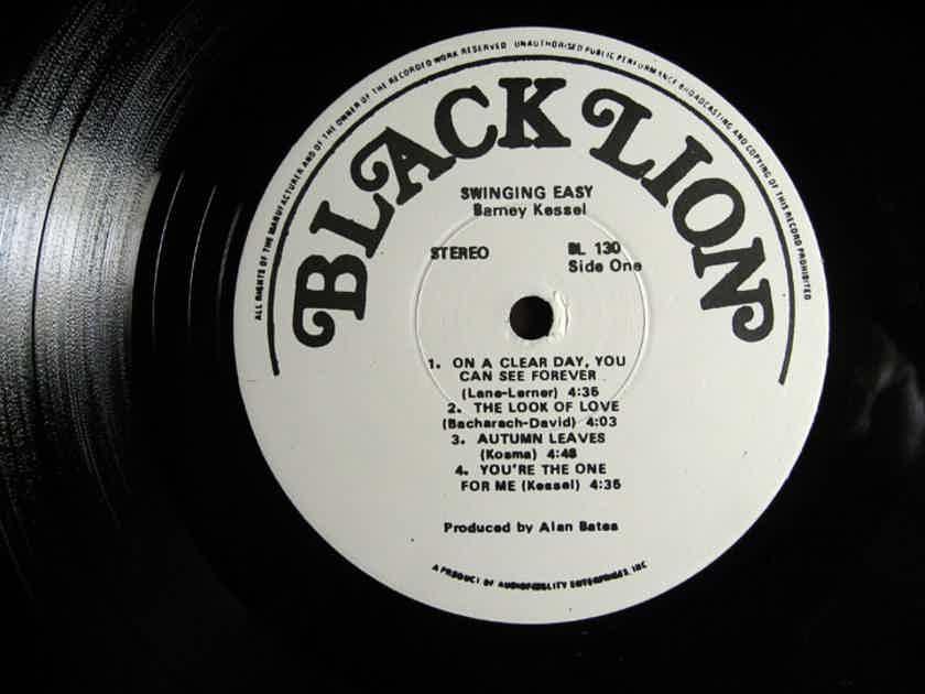 Barney Kessel - Swinging Easy! - White Label Promo 1971 Black Lion Records BL-130