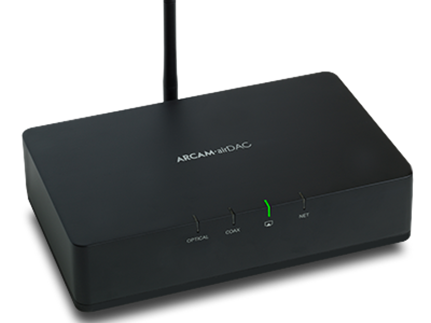 Arcam rDAC CURRENT IR DAC II  Bluetooth DAC w/ hdphone/preamp/remote