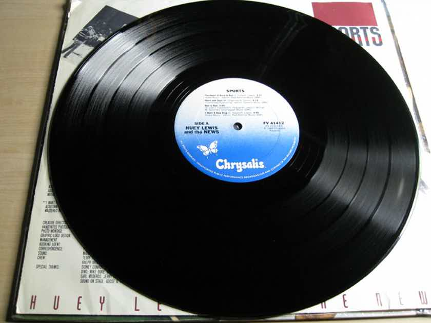 Huey Lewis And The News - Sports  - 1983 Chrysalis FV 41412